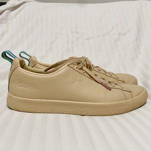 Puma Clyde x Big Sean Leather Sneakers Tan sz 8